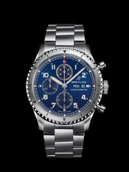 航空计时飞行员8计时腕表43(Aviator 8 Chronograph 43)
