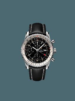 航空计时世界时间计时腕表46(Navitimer Chronograph GMT 46)