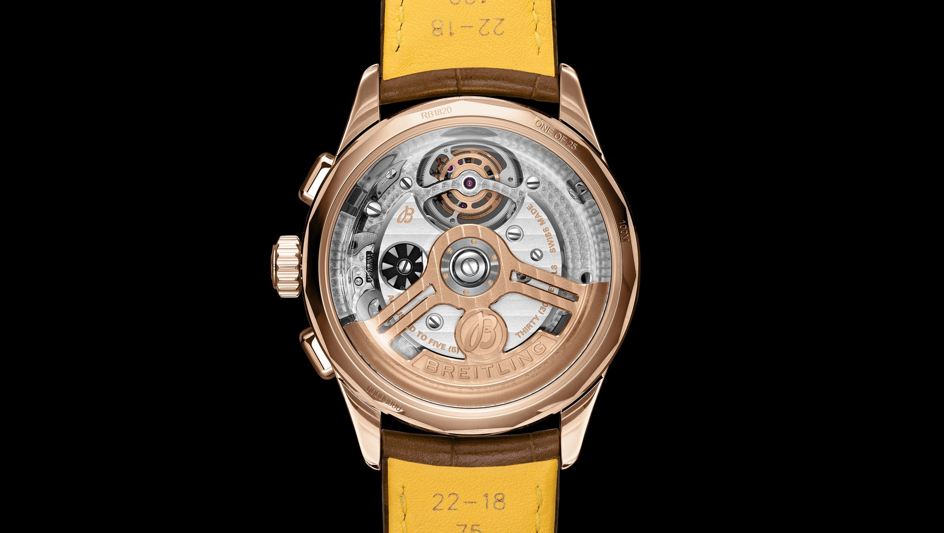 百年灵与宾利合作推出精妙绝伦的陀飞轮机芯限量版腕表