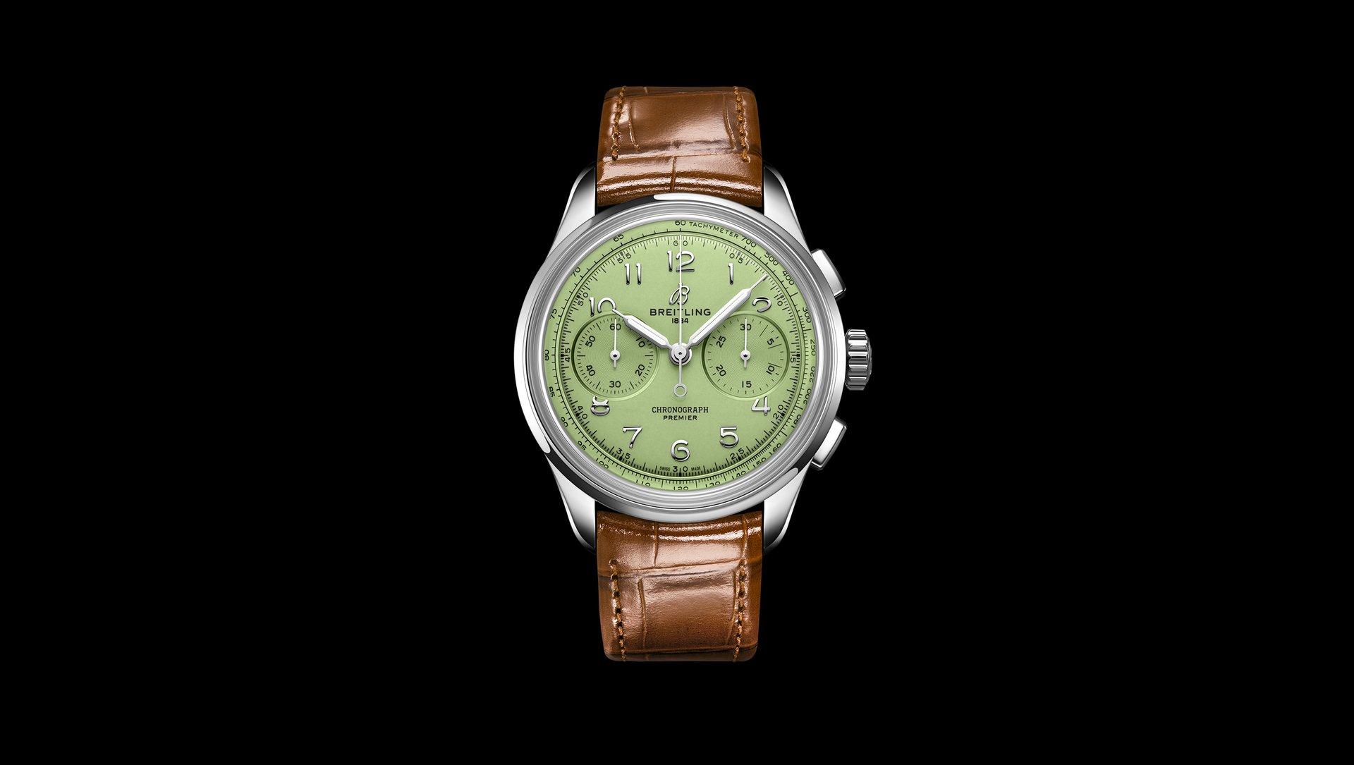 百年灵文化传承——全新璞雅文化系列腕表
